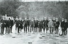 1912 Curling pond at Cocksburn