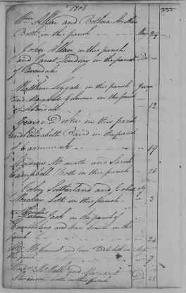 Banns 12 June 1808 Matthew Leggat and Margaret Gilmour at Eastkilbride