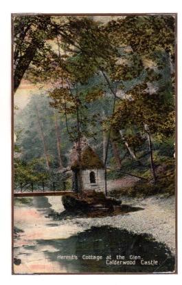 1910 Hermits Hut, colourised.