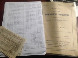 Auchentibber School Admission Register 1916 - 1959