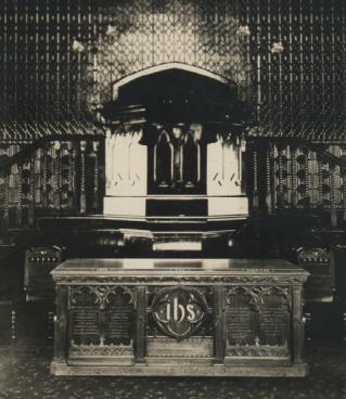 1930s Interior of Old Parish Church