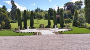 Crossbasket Gardens renovated, High Blantyre