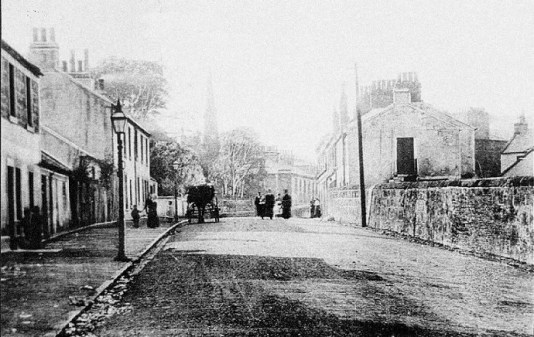 1880s Main Street at Kirkton (PV)