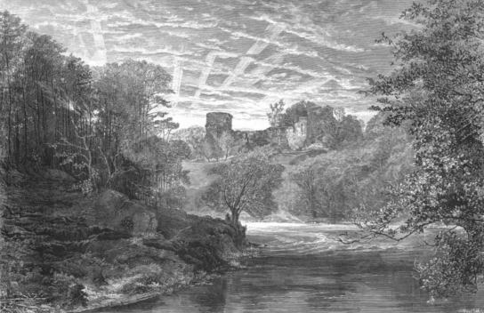1886 Engraving by W Mearson