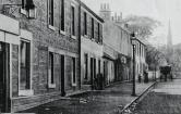 1905 High Blantyre Main Street, Kirkton Cross (PV) from Gilmours