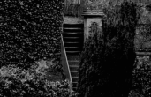 1910 Back Steps of Calderwood Castle
