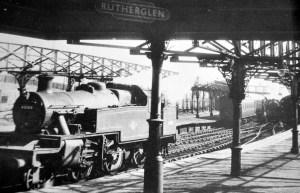 1930s Rutherglen Railway Station