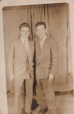 1958 Johnny Logan and John McGuire