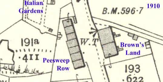 Browns Land and Peesweep 1910