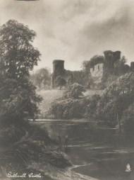 1903 Raphael Tuck's Bothwell Castle photo/painting.