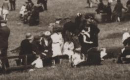 1934 Crowds at David Livingstone Centre