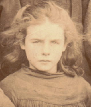 1900 Girl at High Blantyre Primary School (PV)