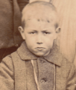 1900 Boy at High Blantyre Primary School (PV)