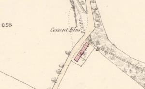 1859 Cement Kilns at Calderside