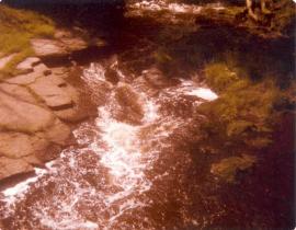 1970s Milheugh Bridge view looking west