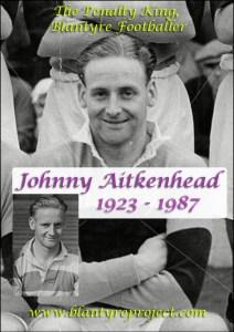 1949 Johnny Aitkenhead, Blantyre footballer