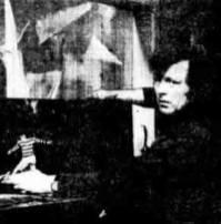 1976 John Fallon after the fire