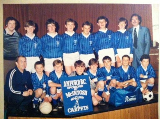 1980s early Anford Boys Club