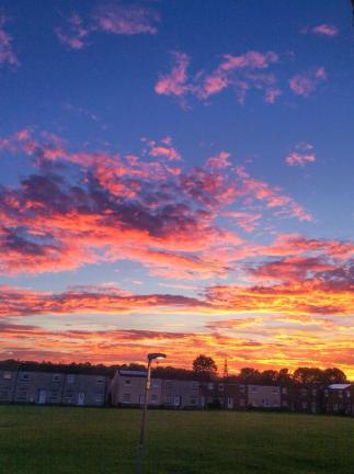 2015 Sunset on 28th September, shared by Amanda Lee