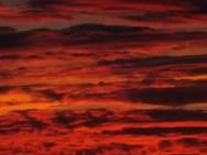 2015 Sunset on 28th September, shared by Gordon Cook