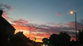 2015 Sunset on 28th September, shared by Helen Morris