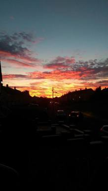 2015 Sunset on 28th September, shared by Janet Flannigan