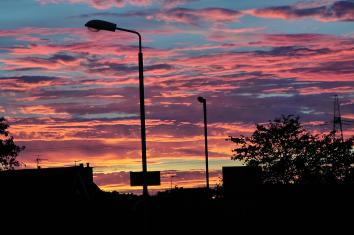 2015 Sunset on 28th September, shared by Jim Donnelly