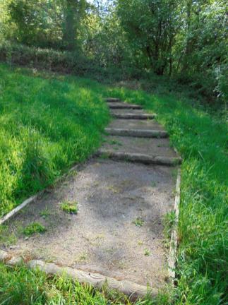 2015 Woodland Paths at Barnhill cleared. Photo J Birkin