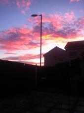 2015 Sunset on 28th September, shared by Lainey Mullen