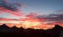 2015 Sunset on 28th September, shared Catrina O Donelly