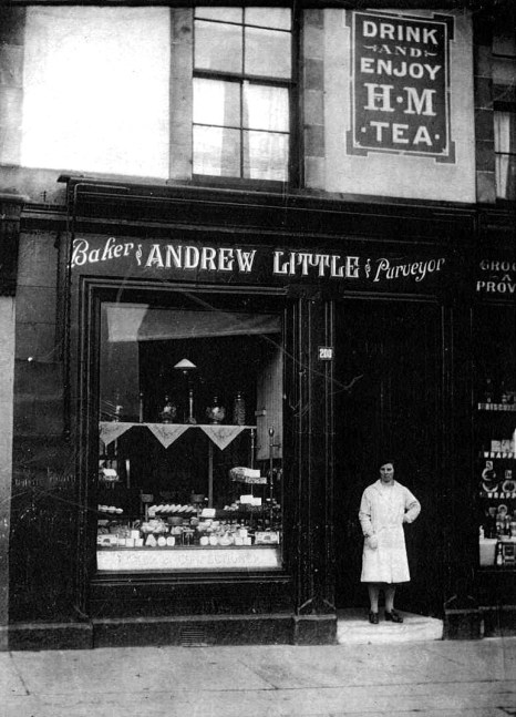 Andrew Little's Shop 1930s. Isabella Little. Shared by G Cook. (c) Not for publication