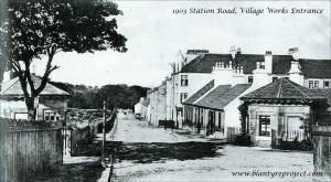 1903 Blantyre Village Works Entrance (PV)