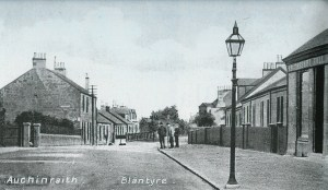 1910 High Blantyre Beggs Building on right hand side