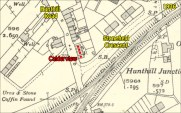 1936 Calderview on High Blantyre map