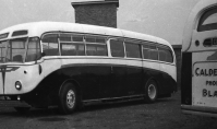 Early 1960s Letham Bus Garage at Stonefield Road (PV)