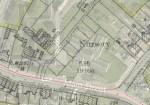 1898 Overlay map Auchinraith Nurseries