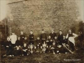 1893 Blantyre Vics Football Club. Shared by J Bethel