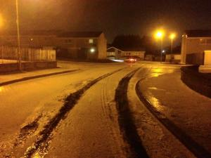 2015 Blantyre snow 13th Nov by Stephen Speirs