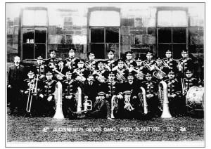 Auchinraith Silver Band 1921, Blantyre