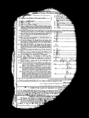 1915 Robert Duncan Military Record