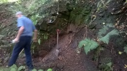 Blantyre Priory Tunnel Dig (PV and AR) Aug 15