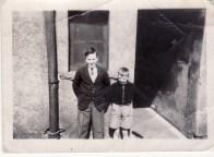 1950s Bill & Alex Duncan at Little's Building