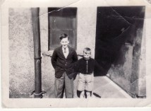 1950s Bill & Alex Duncan at Little's Building