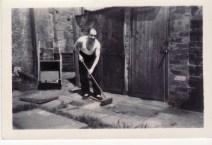 1950s Mr Duncan at littles Building