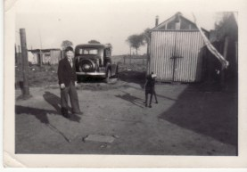 Early 1950s Bill Duncan at Larkfield