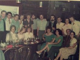 1973 Night out in Hasites. Shared by Helen Williams