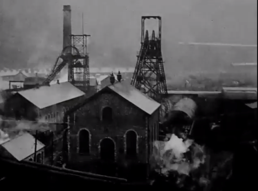 1947 Dixons Priestfield Colliery from bing beside filtering ponds