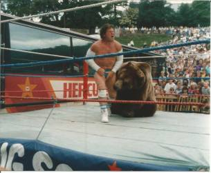 1989 Hercules at Blantyre Highland Games