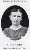 1906 Alex Menzies, footballer