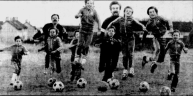 1983 April. Brian Moran & Chelsea Boys Club